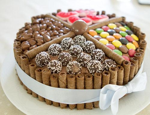 Sjokoladekake for oss som ikke kan pynte kake