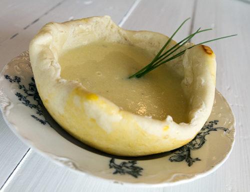 Spiselig suppebolle som passer til de fleste supper